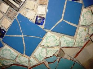 bathroom old tiles