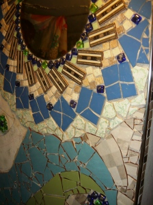 bathroom mosaic