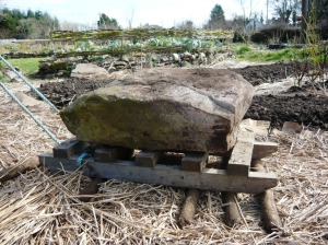 Stone sleigh