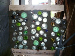 bottle-wall 3 sections