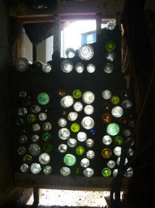 bottle-wall light