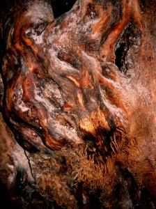 floor mosaic tree detail