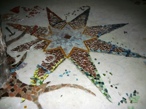 mosaic star floor