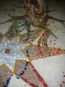 mosaic star floor 016