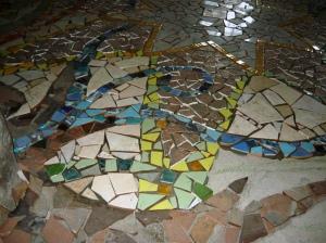 mosaic star floor