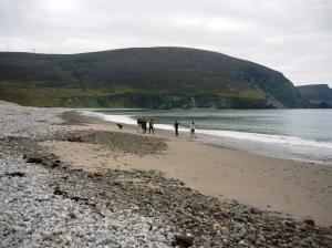 Achill island beach