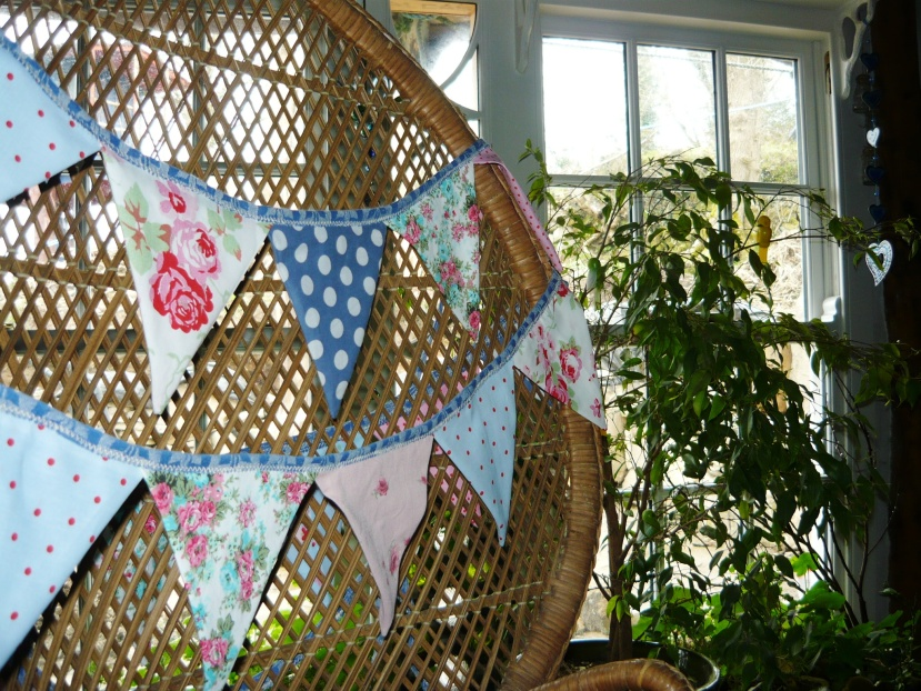 Easy bunting.