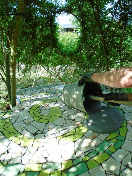 mosaic table 018