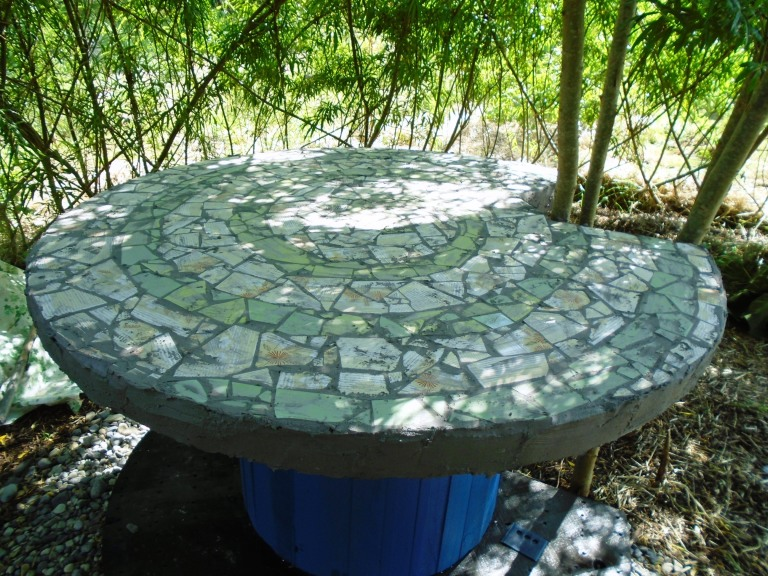 mosaic table 023