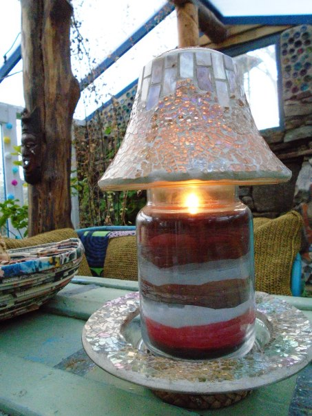 garden and candles 076