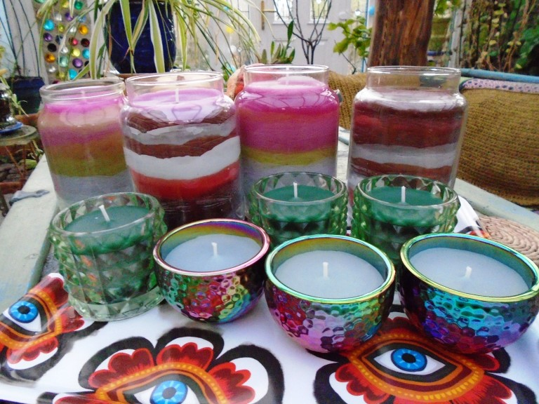 garden and candles 093