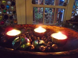 garden and candles 099